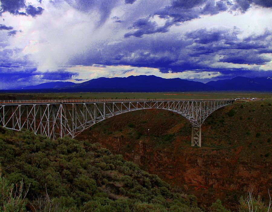 Rio Grande Photograph - Rio Grande Gorge Bridge by Neil McCarver