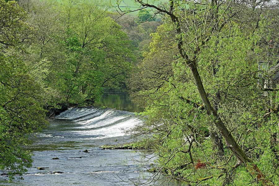 River Derwent Weir - Baslow Photograph