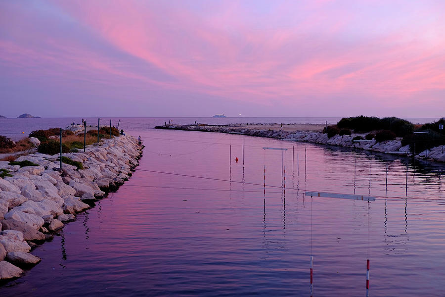 River Meets Sea Photograph