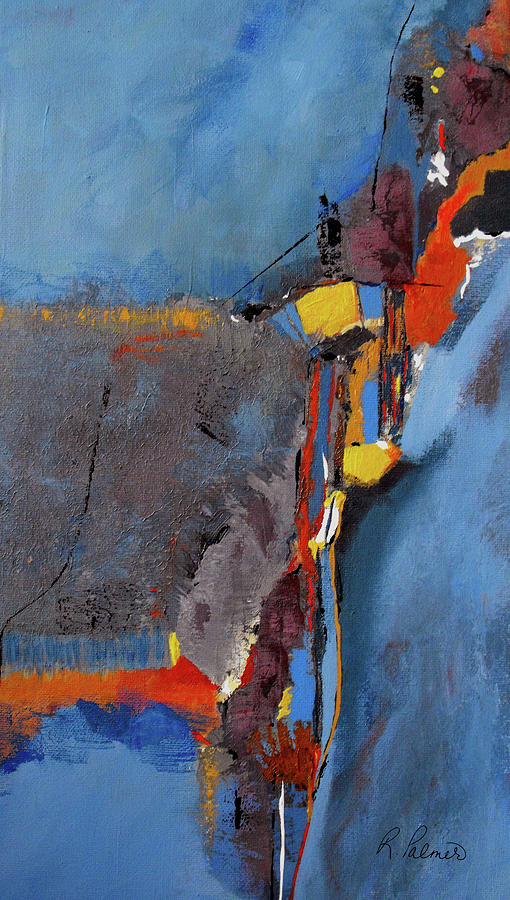 Abstract Painting - Road To Damascus by Ruth Palmer