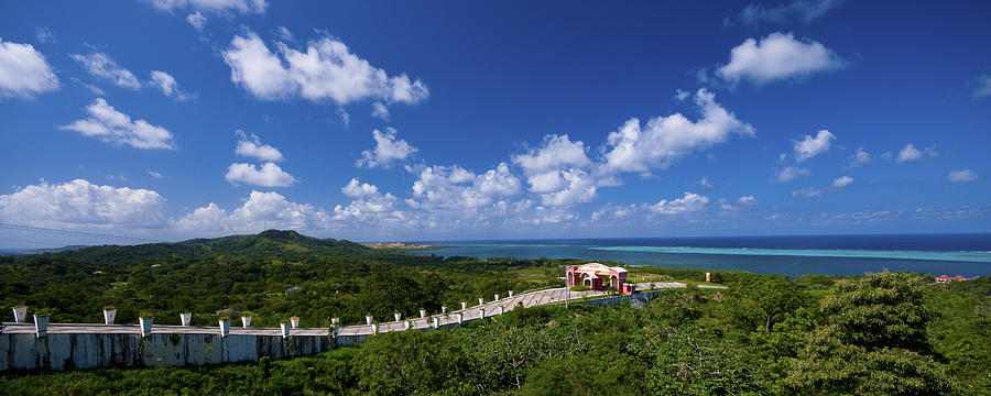 Roatan Photograph - Roatan Lookout by Ryan Heffron