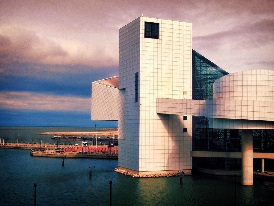 Rock Hall Photograph - Rock And Roll Hall Of Fame by Shawna Rowe