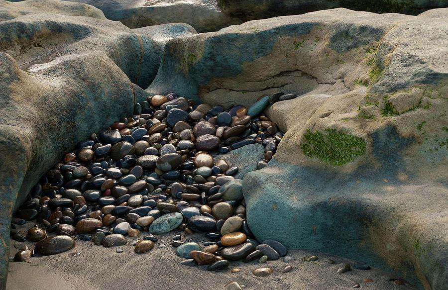 Rocks Photograph - Rock Cradle by Randy Bayne