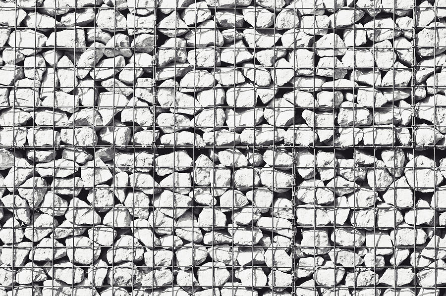 Rocks In A Cage Photograph