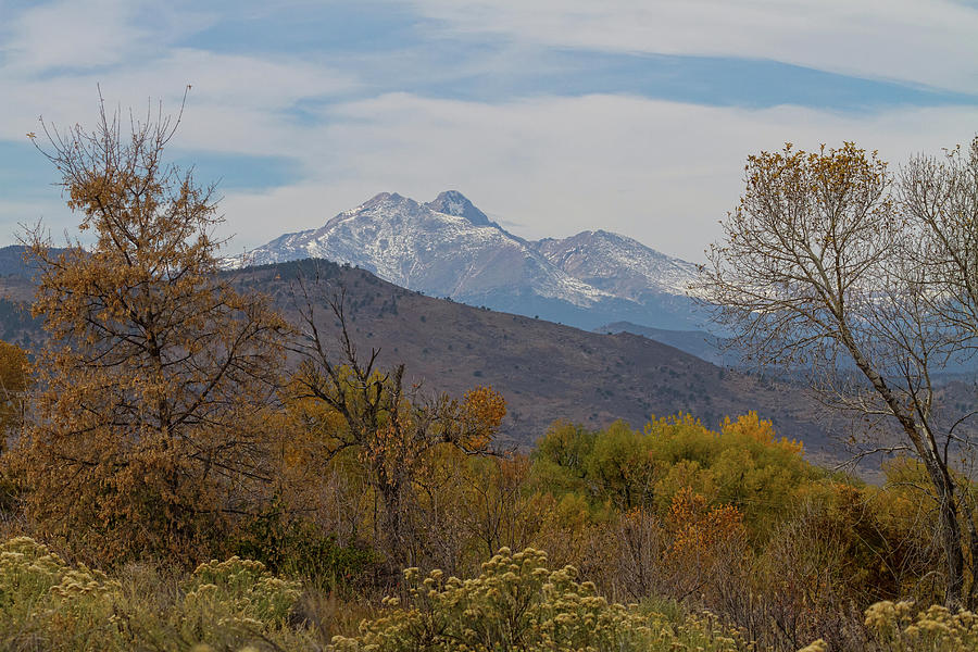 Rocky Mountain Foothills View Photograph