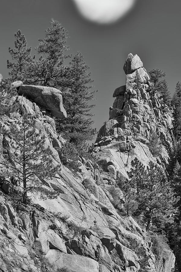 Rocky Mountain St Vrian Pinnacle Photograph