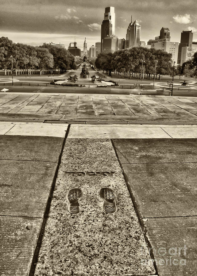 Rockys Footprints Photograph