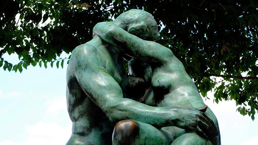 Rodin The Kiss Photograph