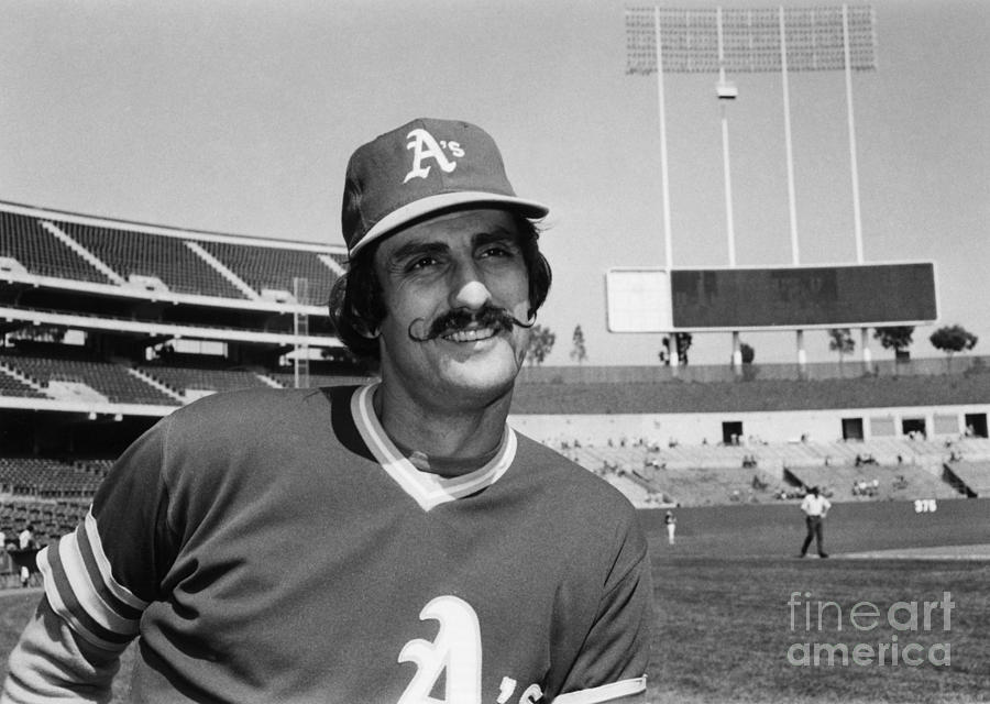 1975 Photograph - Rollie Fingers (1946- ) by Granger
