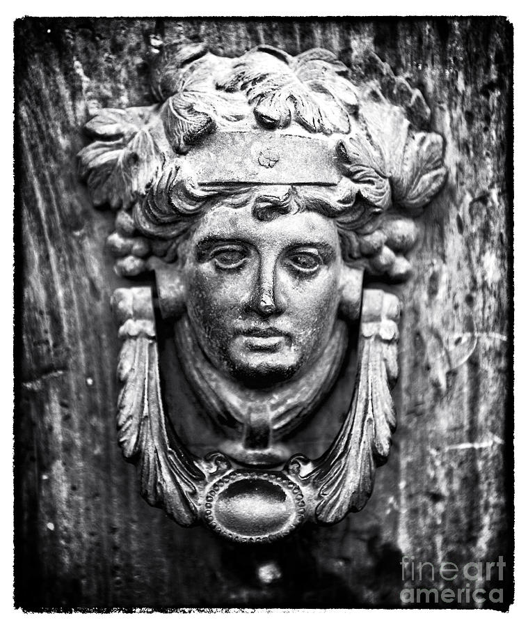 Roman Door Knocker Photograph