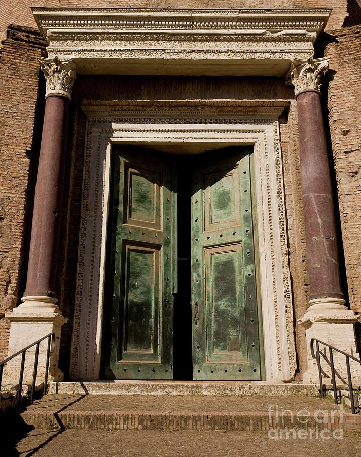Roman Doors Photograph