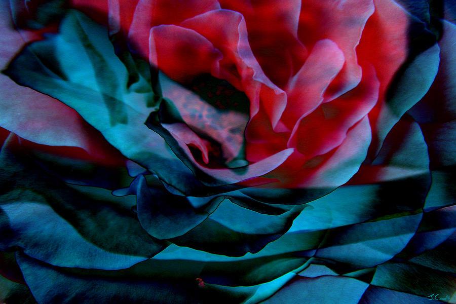 Abstract Art Mixed Media - Romance - Abstract Art by Jaison Cianelli