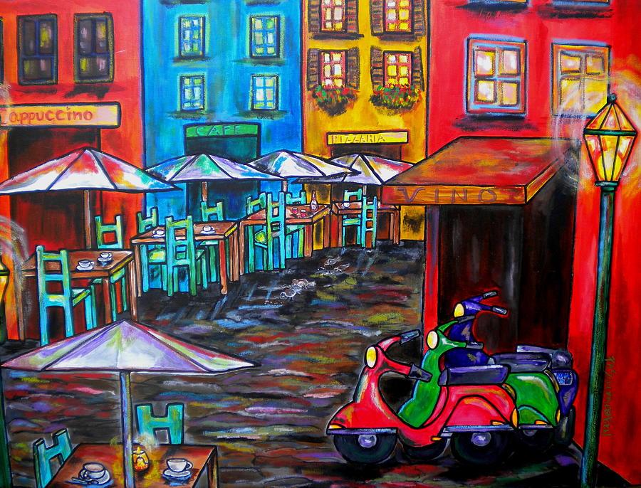 Rome Painting - Rome In Twilight by Patti Schermerhorn