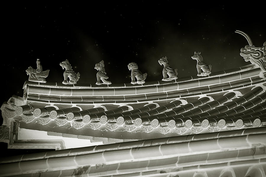 China Photograph - Roof National Palace Museum Taiwan City - Taipei  by Christine Till