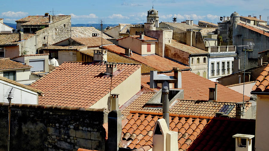 Roofs Of Arles Photograph