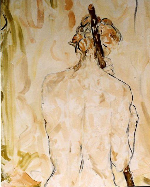 Figurative Painting - Room by Caroline Krieger Comings