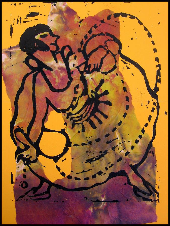 Dancer Mixed Media - Ropedancer  by Adam Kissel