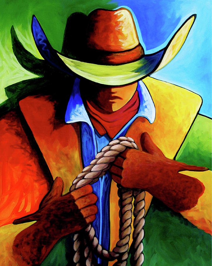 Contemporary Painting - Roper by Lance Headlee