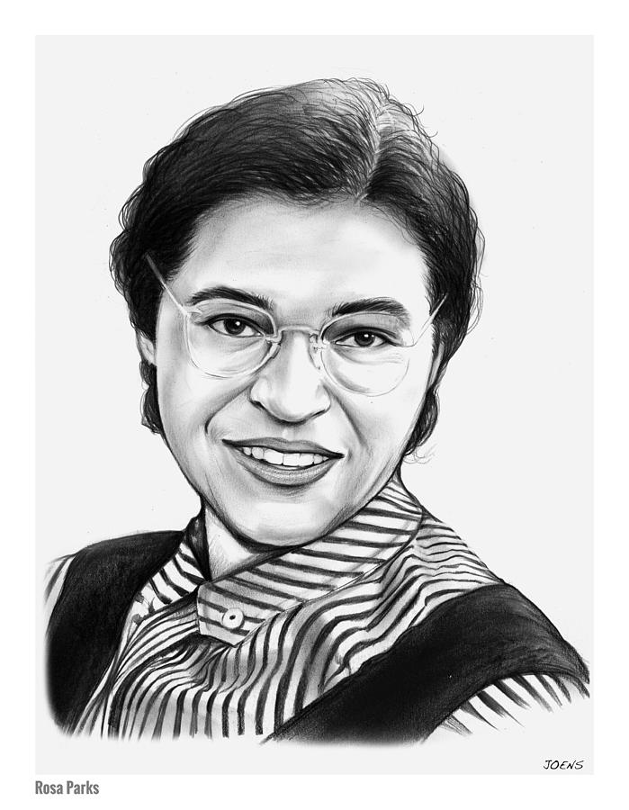 rosa parks drawing by greg joens martin luther king clipart black & white martin luther king clip art free images