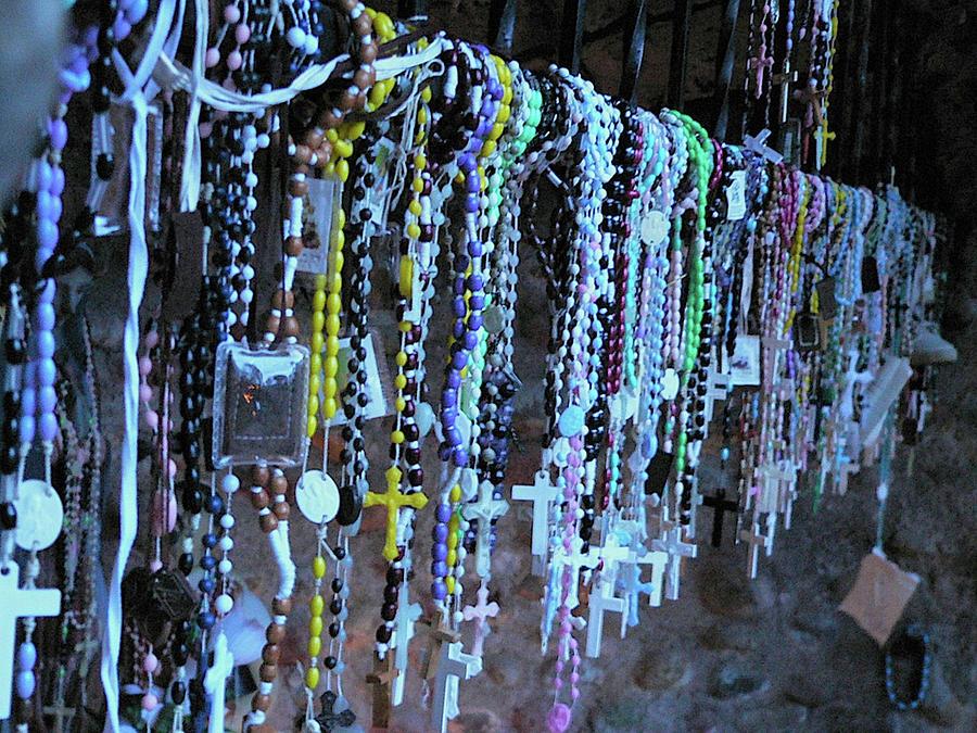 Rosary Photograph - Rosary by Angela Wright