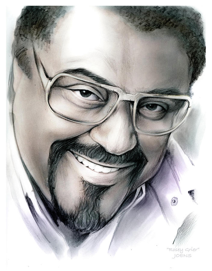 Rosey Grier Drawing