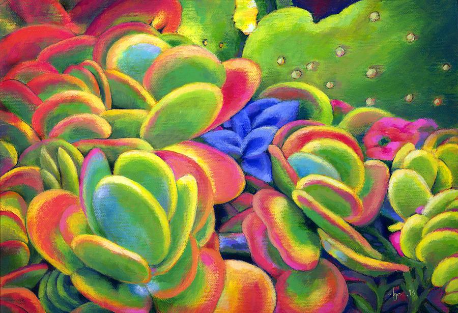 Hawaii Painting - Rosey Lips by Angela Treat Lyon