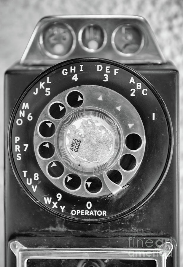 Rotary Dial Photograph