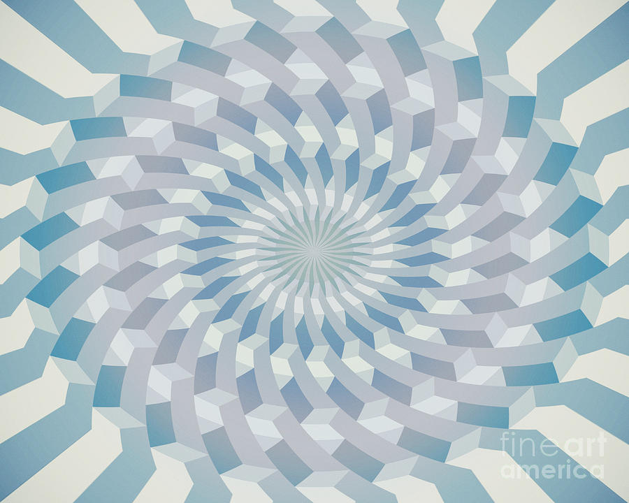 Abstract Photograph - Round Pattern 170.4 by Igor Kislev
