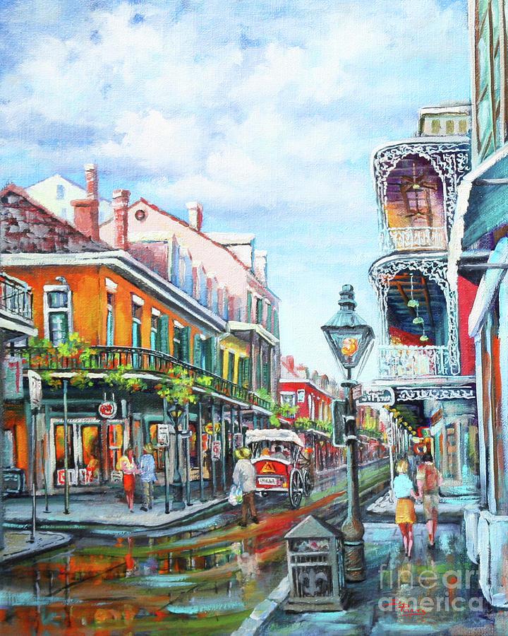 Royal Balconies Painting
