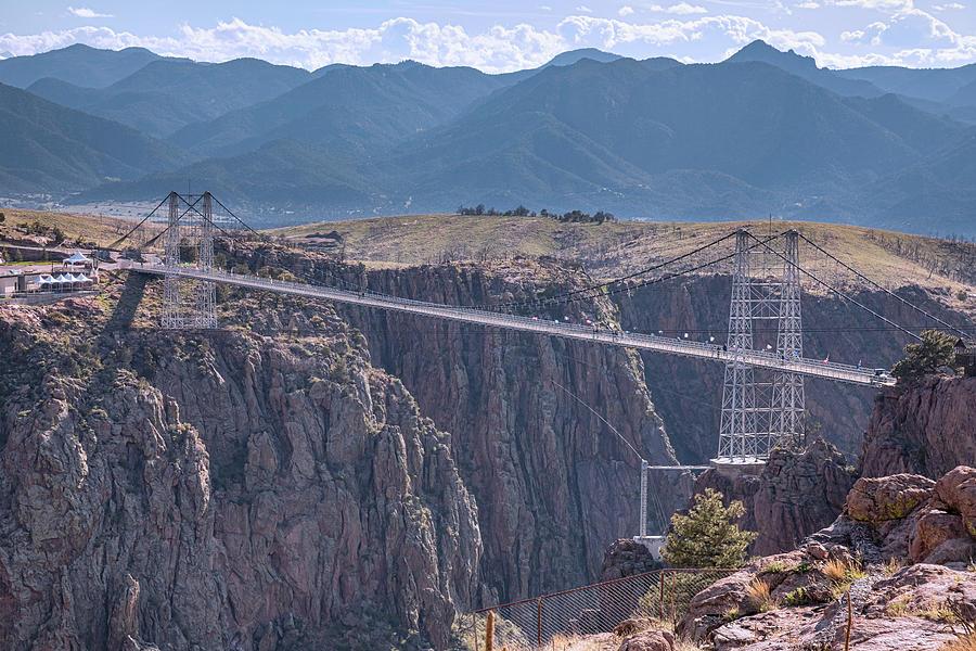 Royal Gorge Bridge Colorado Photograph