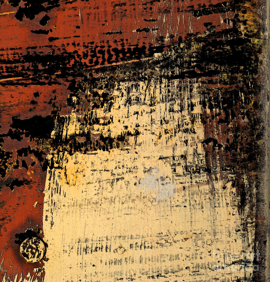 Abstract Photograph - Rub Abstract by Gary Everson