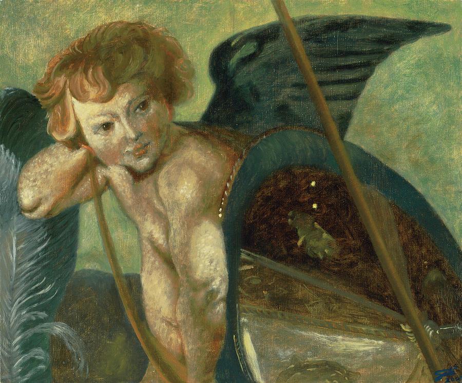 Angel Painting - Rubens Angel by Shelley Irish