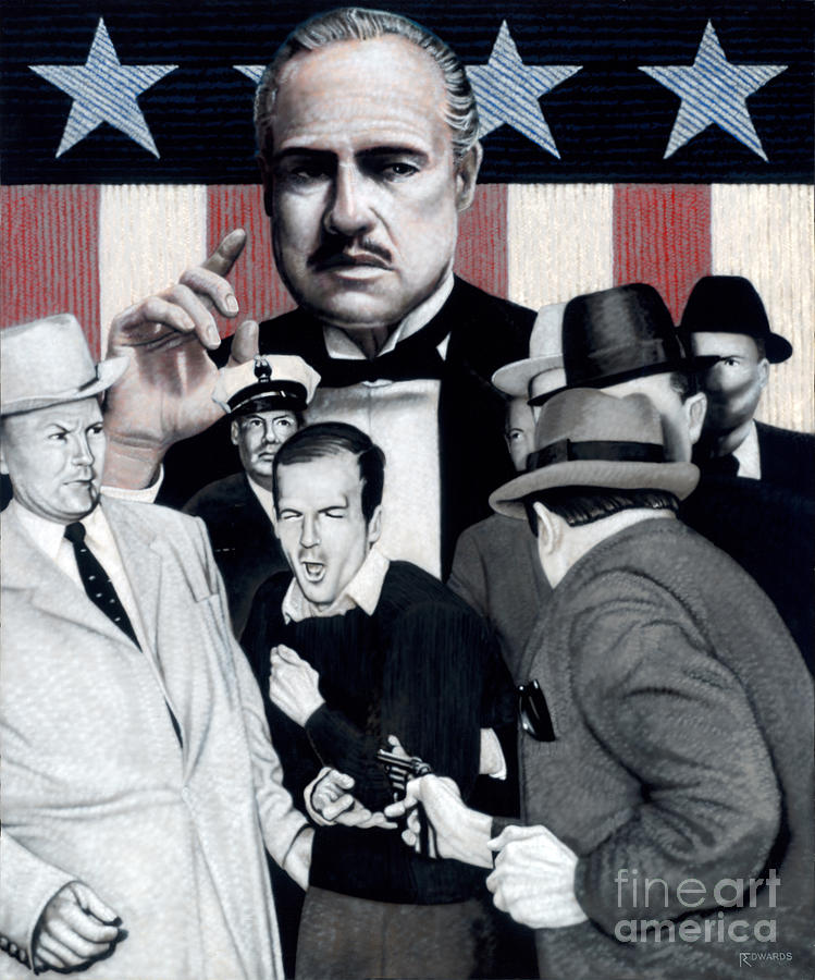 Lee Harvey Oswald Painting - Ruby Oswald by Ross Edwards
