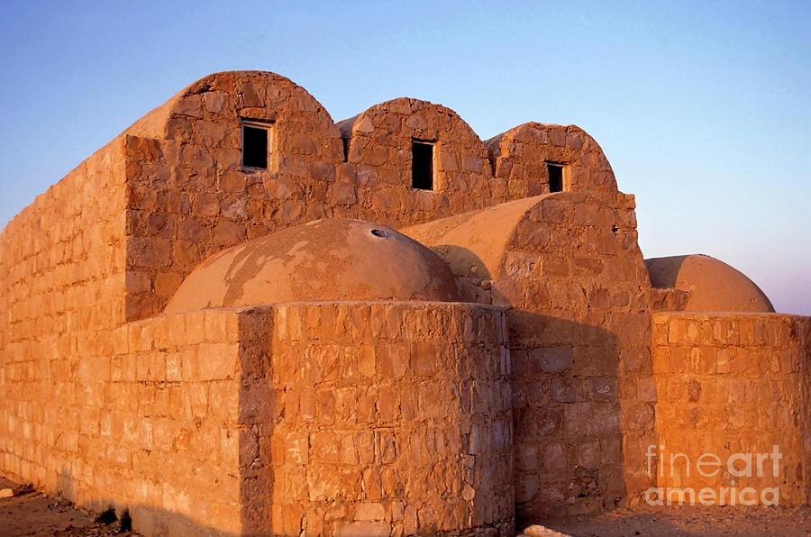 Ruins Of Qasr Amra In Jordan Photograph