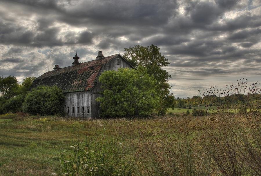 Barn Photograph - Rural Clayton by Lori Deiter
