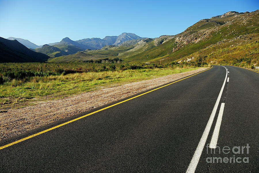 Absence Photograph - Rural Road by Sami Sarkis