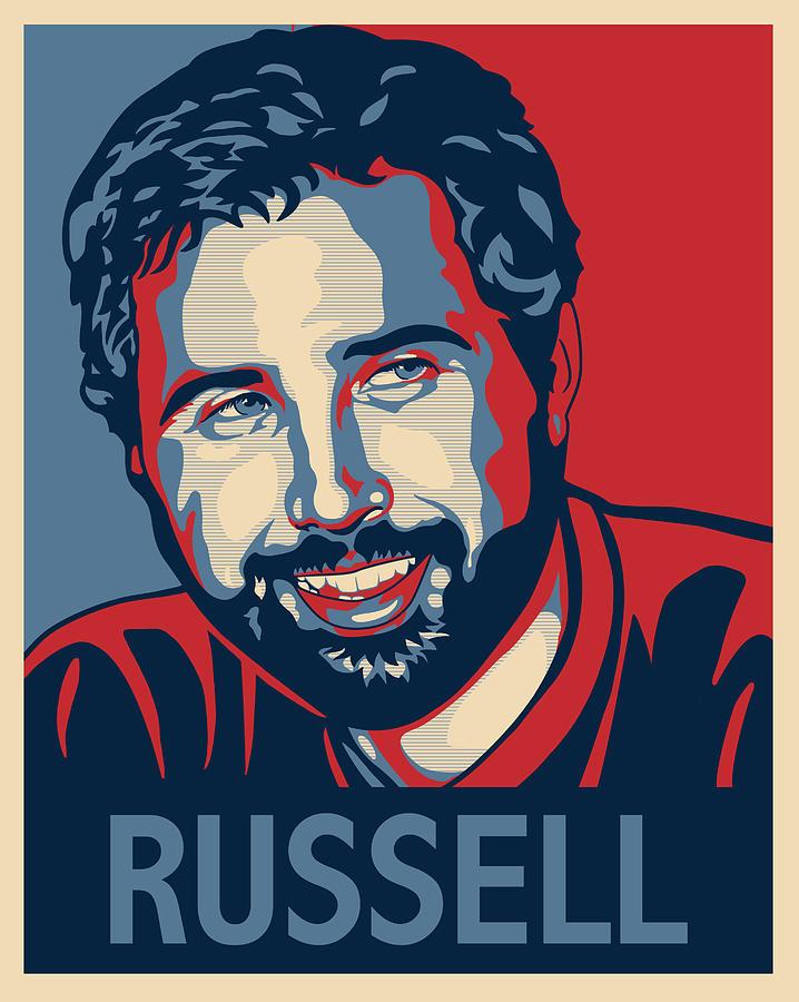 Digital Art Digital Art - Russell by Sue  Brehant