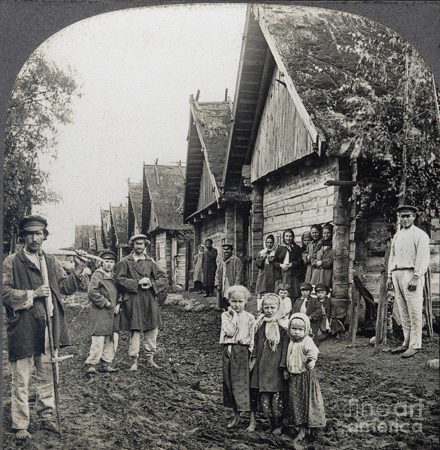 Russia: Peasants Photograph