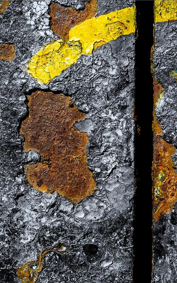 Rust On The Railroad Bridge Photograph