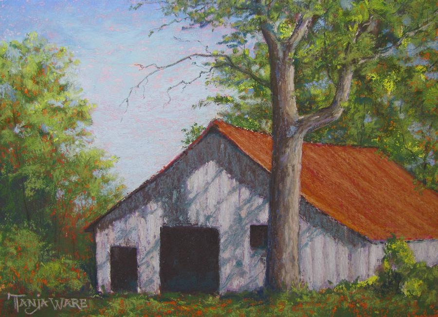 Barn Painting - Rustic by Tanja Ware