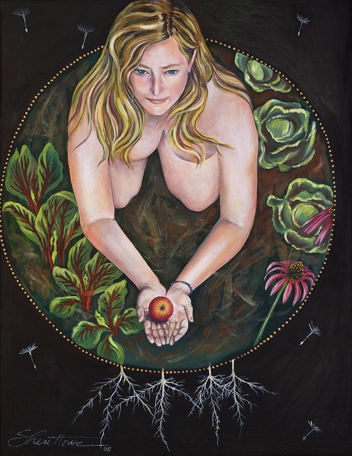 Sacred Circle 1 Painting