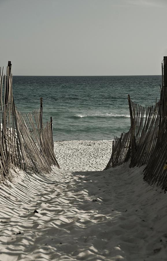 Seaside Photograph - Sacred Path by Jonathan Ellis Keys