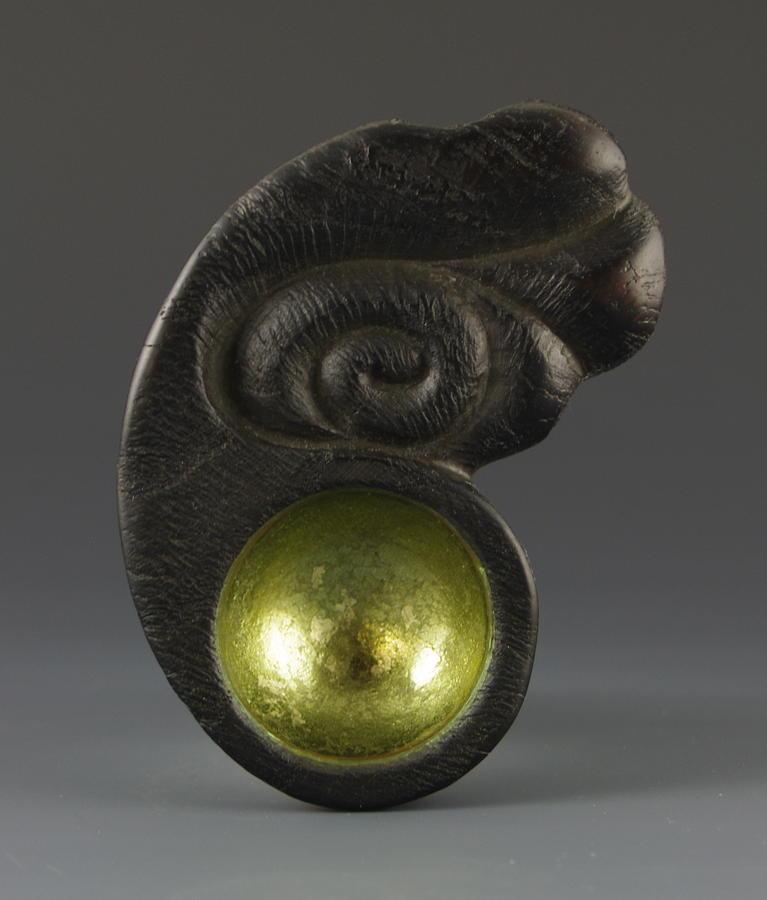 Sacred Spoon Of The Pemaquid Rock People Sculpture
