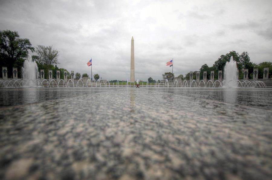 Ww Ii Memorial Photograph - Sacrifice by Mitch Cat
