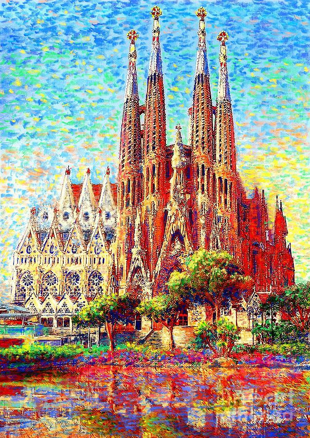 Sagrada Familia Painting