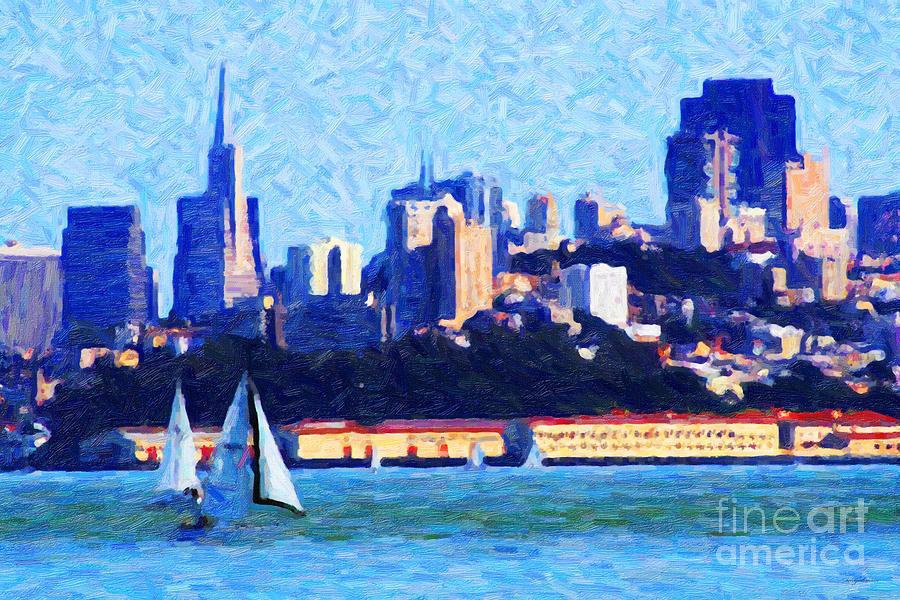 Sailing In The San Francisco Bay Photograph