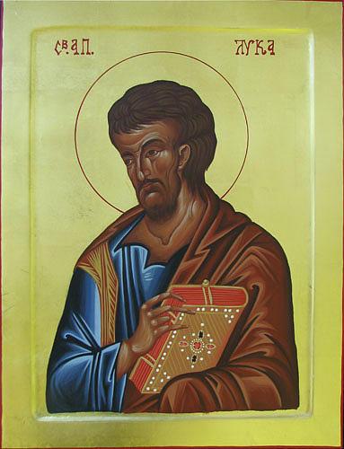 Saint Luke Painting