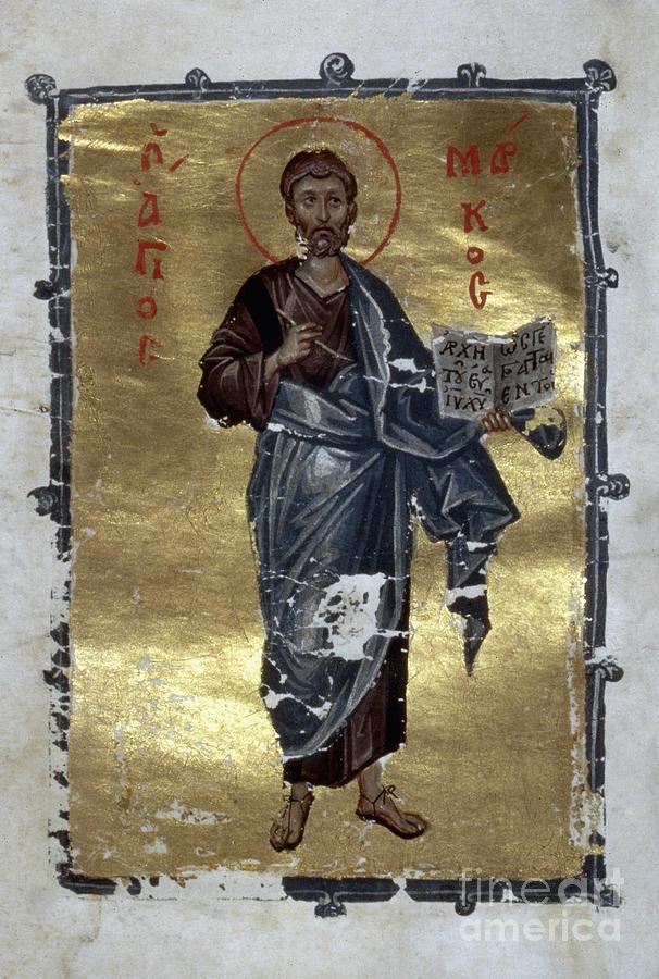 13th Century Painting - Saint Mark by Granger