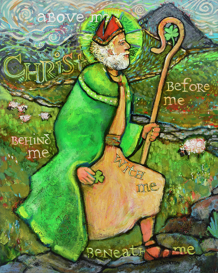 Saint Patrick Painting