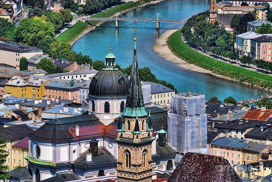 Salzburg Photograph - Salzburg Austria Europe by Sabine Jacobs